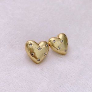 Kate Spade My Precious Heart Stud Earrings